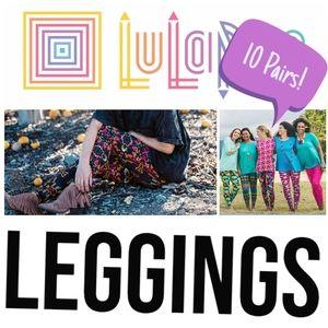10 Lularoe Leggings - Tall & Curvy - Mystery Box